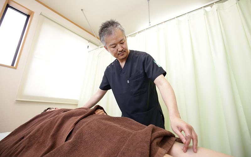 大成堂オリジナルの無痛鍼灸・骨盤循環鍼灸